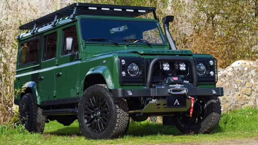 Khal Drogo goes off road in this GoT-inspired Land Rover Defender