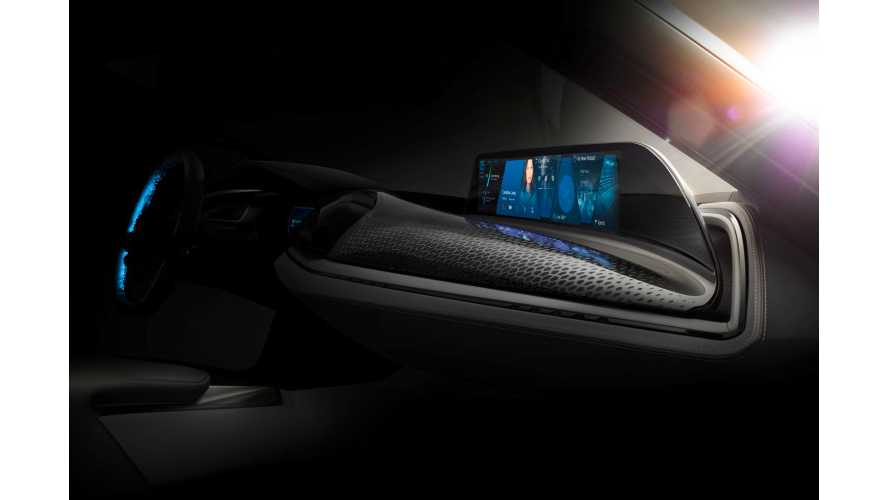 BMW i8 Spyder Interior Teased Ahead OF CES 2016 Unveiling