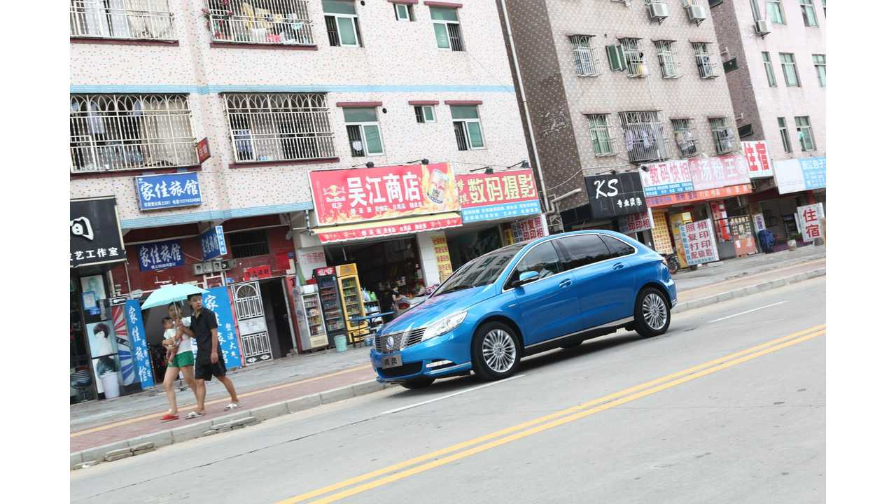 China Slashes Taxes On Electric Cars