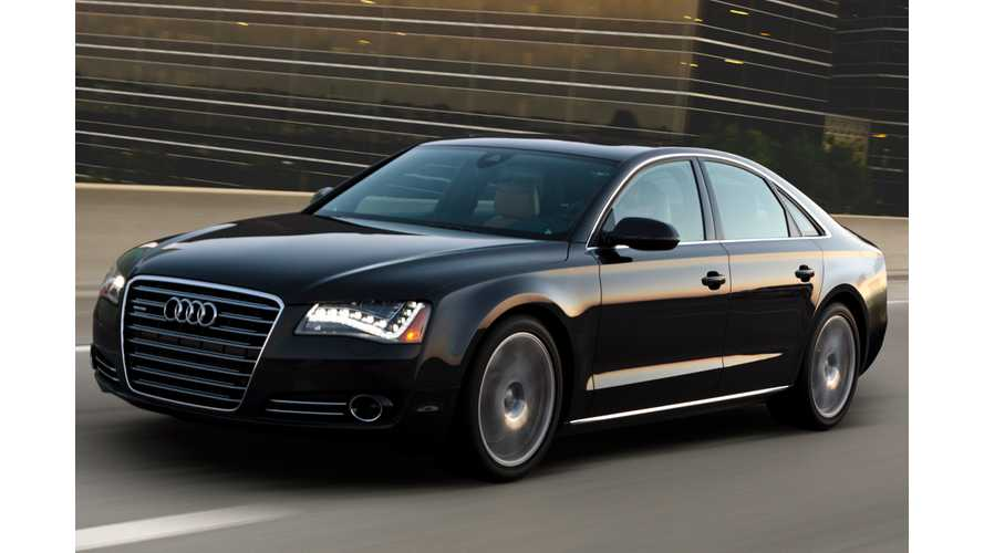 Audi A8 E-Tron To Get Diesel Plug-In Hybrid Tech