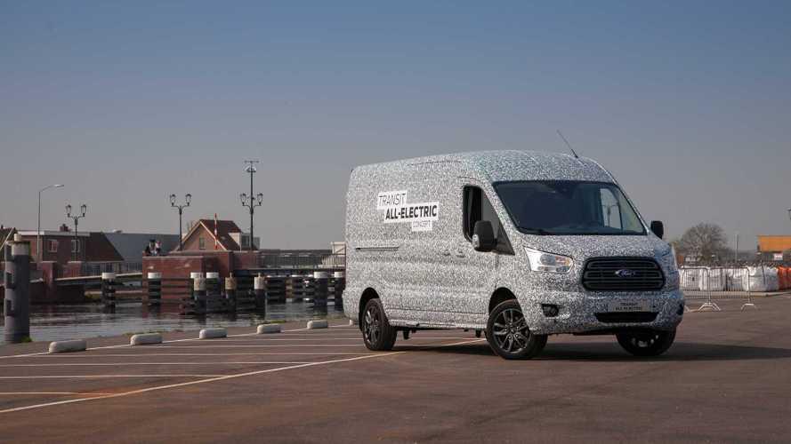 Ford Transit mit Elektroantrieb startet 2021