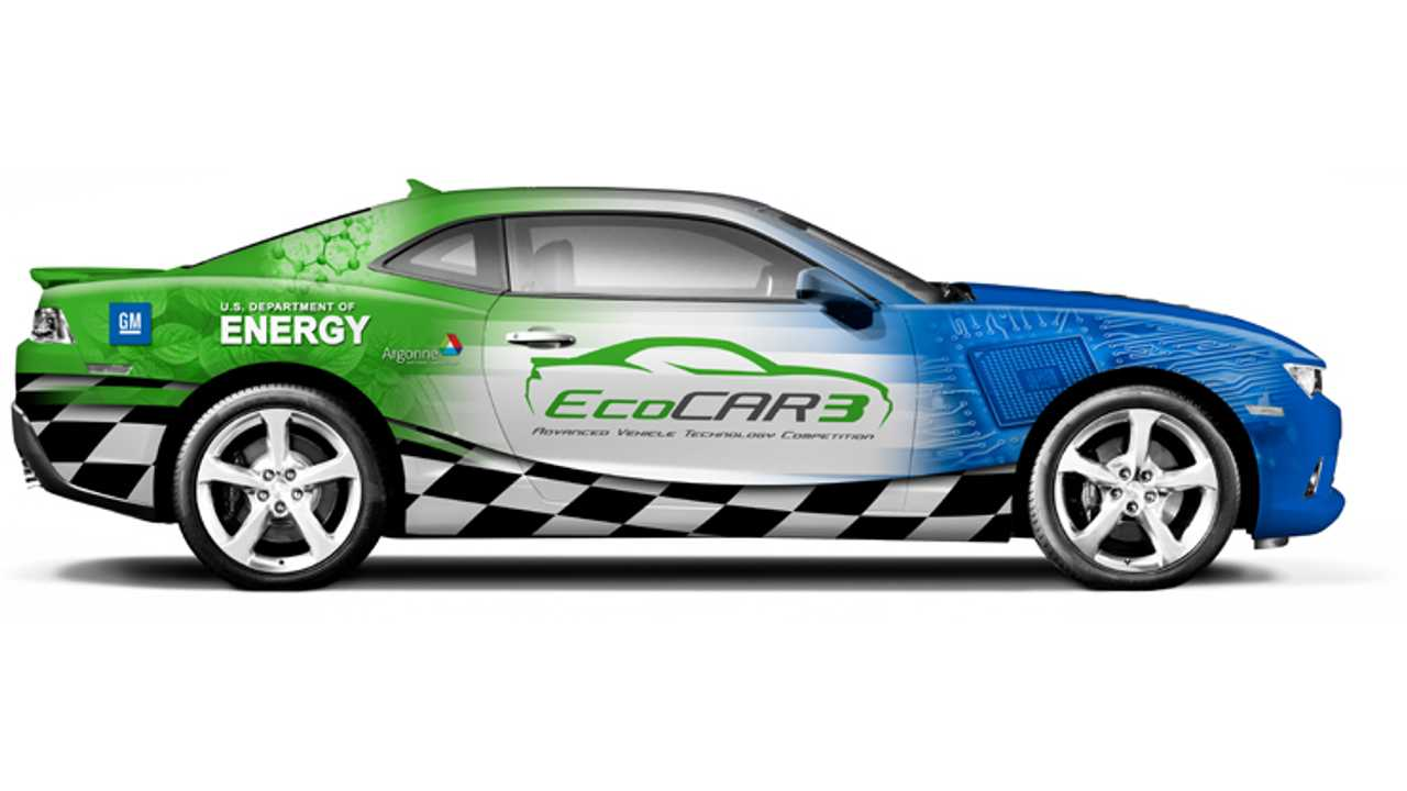 EcoCAR 3: Chevrolet Camaro To Get Plugged In