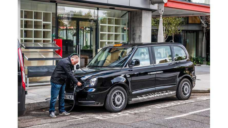 Coventry Adds Incentives To Push Up Use Of Electric Taxis