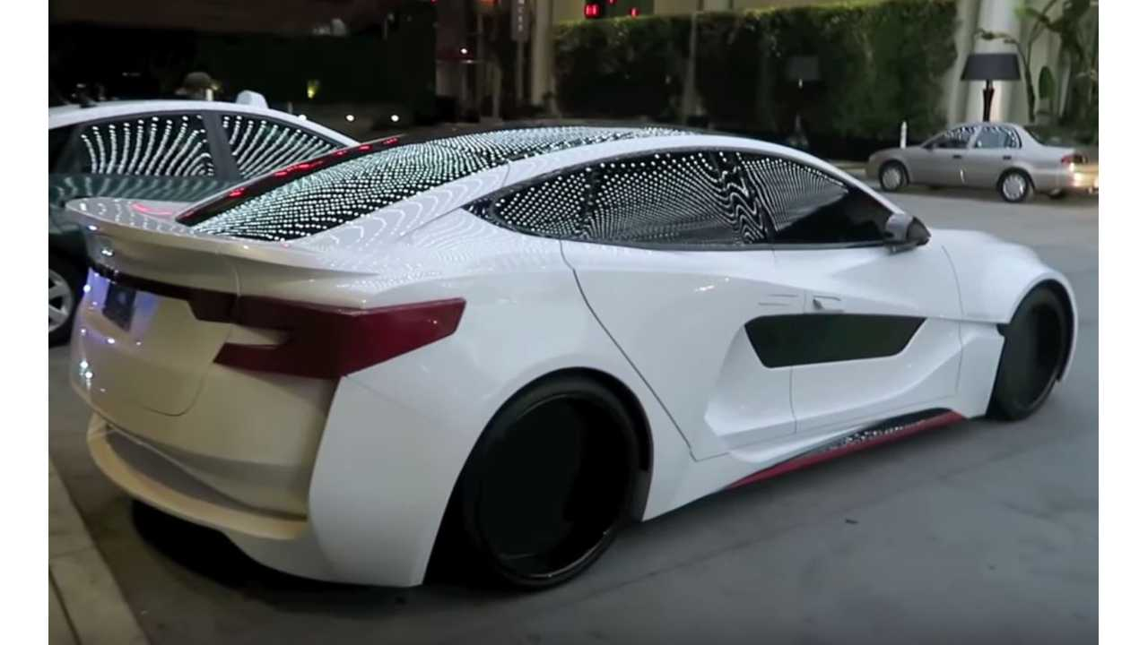 Check Out These Celebrity Tesla Model S' With Plenty Of Wow Factor