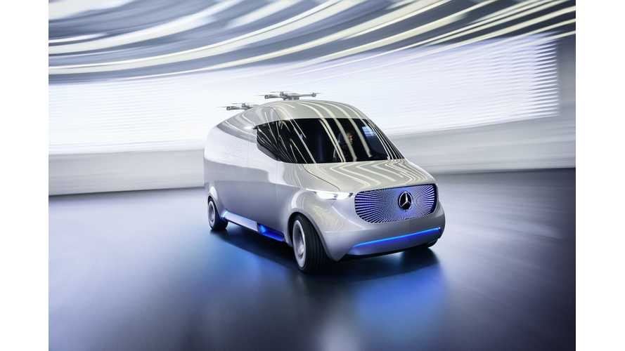 Mercedes-Benz Unveils New Electric Vision Van