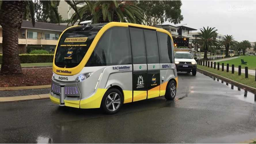RAC Intellibus - Australia's First Autonomous EV Featured By Fully Charged - Video