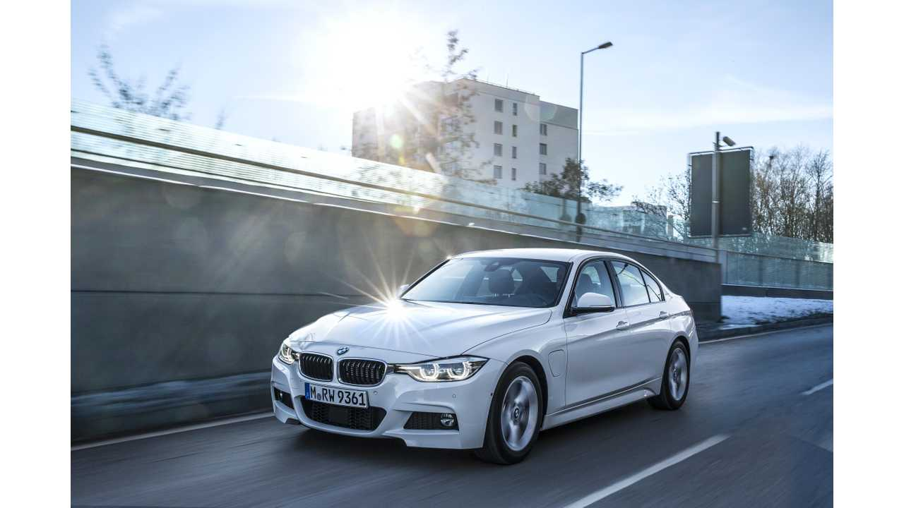BMW Targets Upwards of 100,000 Electrified Vehicle Sales In 2017