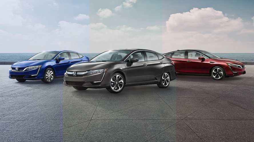 EV Comparison: 3 Flavors Of Honda Clarity: PHEV, BEV & Fuel Cell