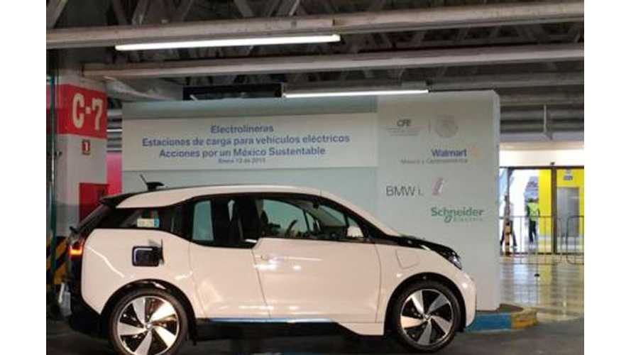 Mexico Gets Its First Public Charging Stations
