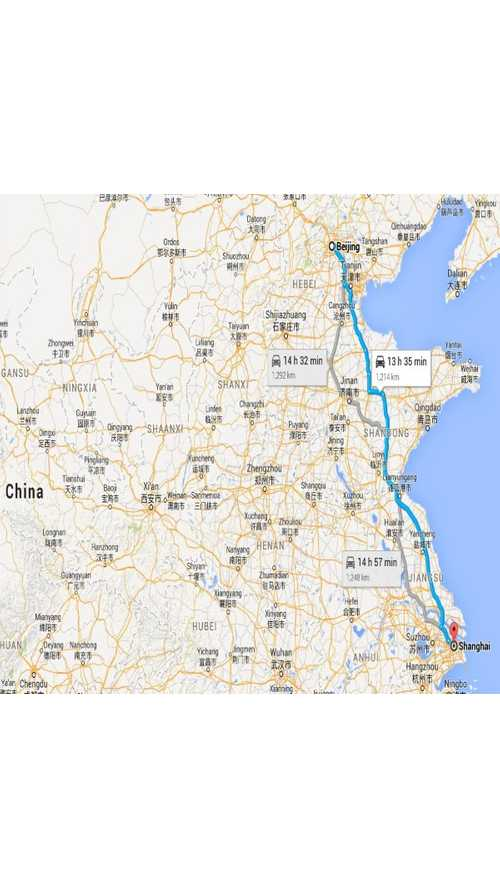 China Completes Charger Installation Along Critical Shanghai To Beijing Route