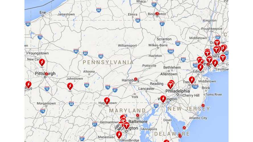 Tesla To Expand Sales, Service And # Of Superchargers In Pennsylvania In 2015