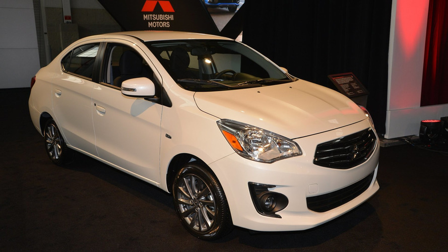 2017 Mitsubishi Mirage G4 brings proper trunk to NY