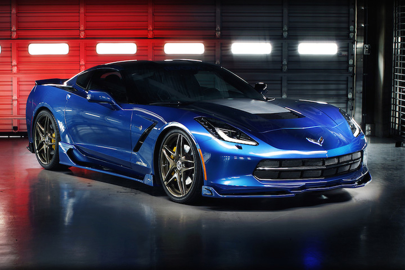 The Revorix Corvette Looks Mean, Headed for SEMA
