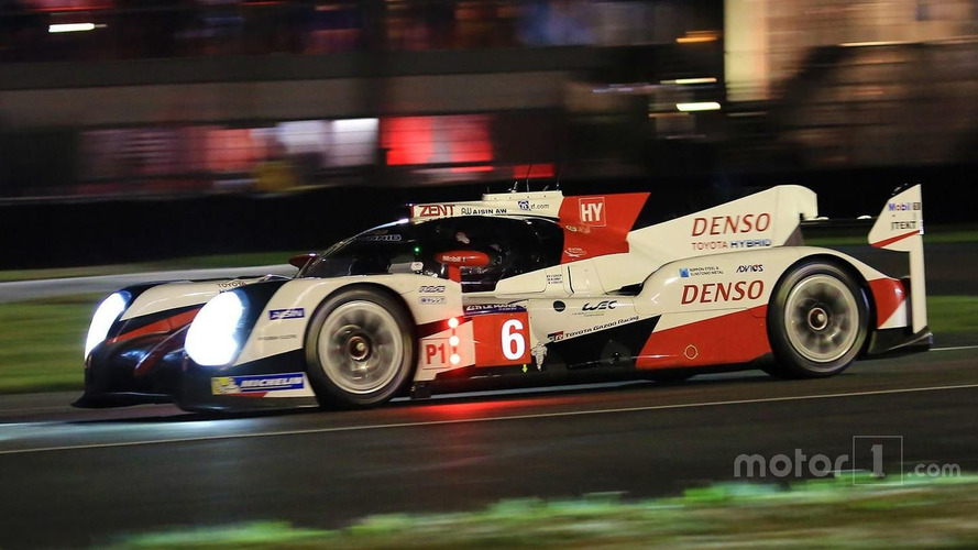 Le Mans 24 Hours: Toyota in command as darkness falls