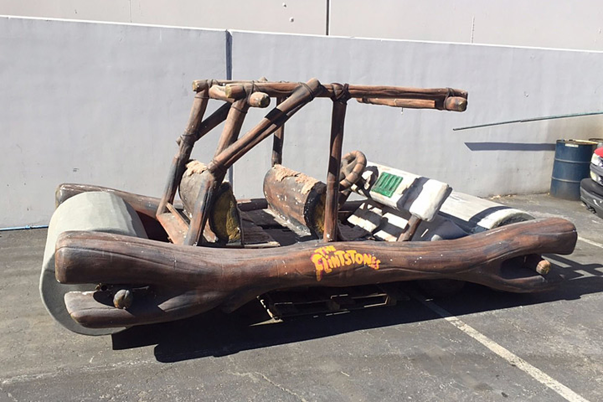 Yabba Dabba Doo! A Flintstones Flintmobile is Up for Sale