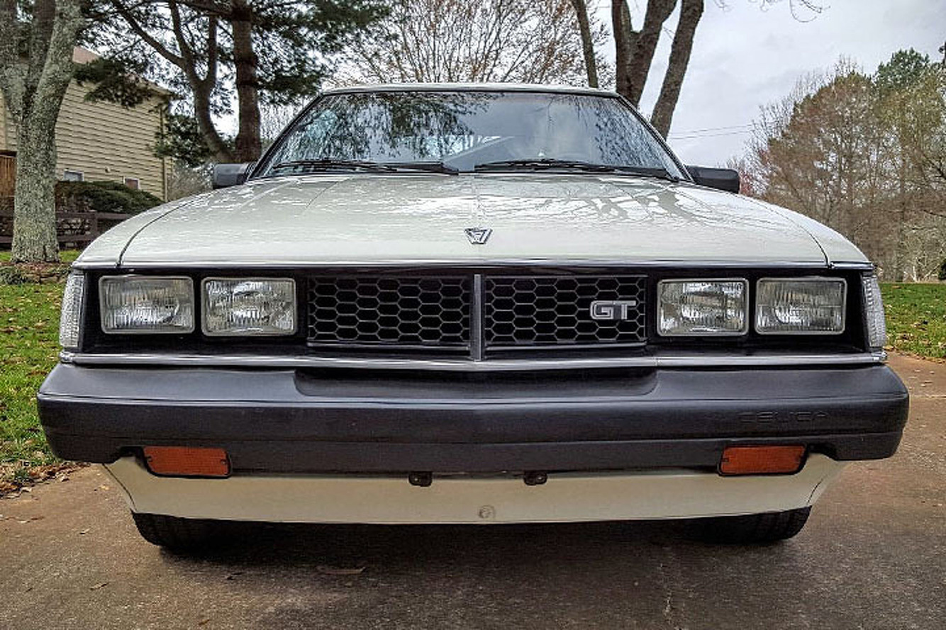 This Toyota Celica USGP is a 'Time Capsule' of the '80s