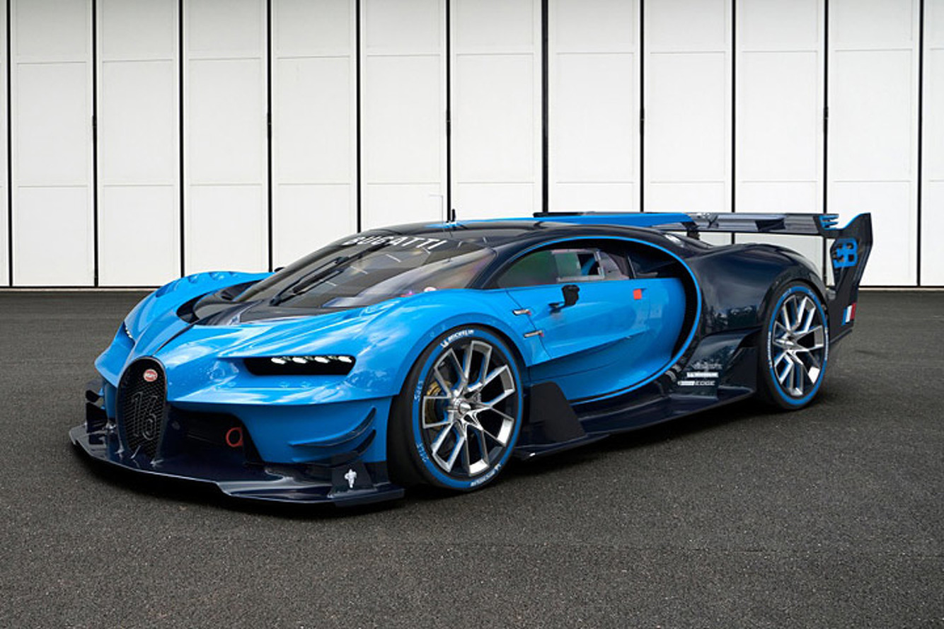 Listen to the Bugatti Vision Gran Turismo's Brutal Exhaust