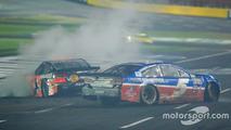 Kasey Kahne, Hendrick Motorsports Chevrolet crash
