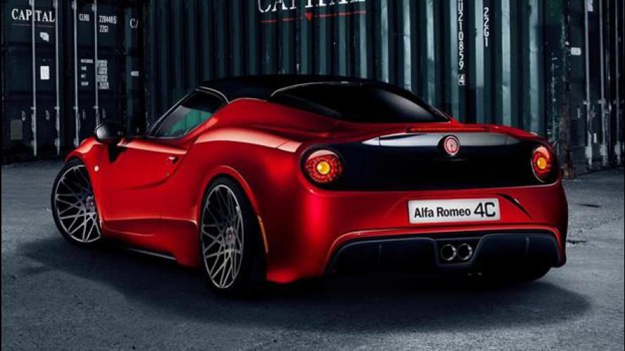 """Alfa Romeo 4C """"Pogea Racing"""", tutta muscoli e carattere"""