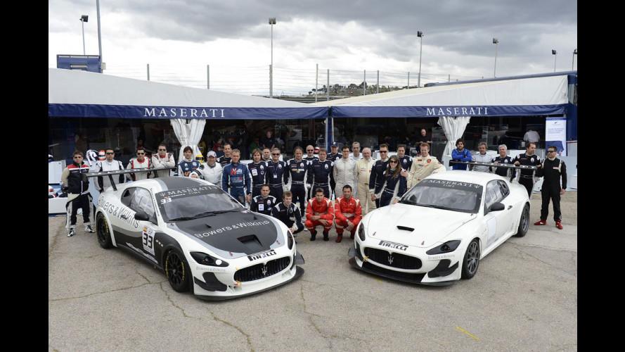 Maserati Trofeo MC World Series: prime vittorie del 2012 a Romagnoli e Sernagiotto