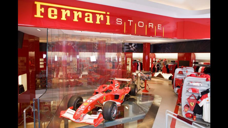 E' nato il primo Ferrari Store del Regno Unito