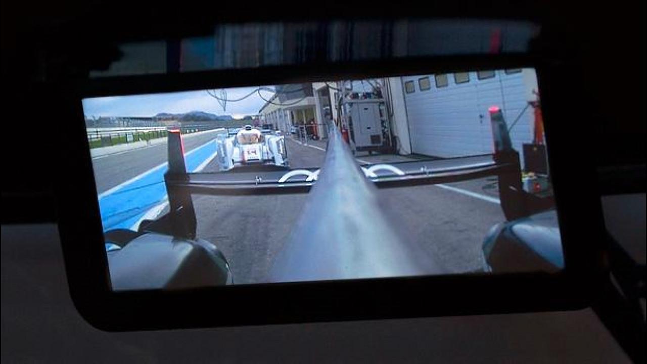 [Copertina] - Audi: per le corse c'è lo specchietto digitale
