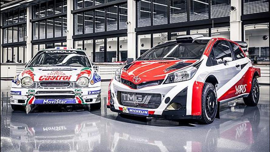Toyota rientra nel mondiale rally