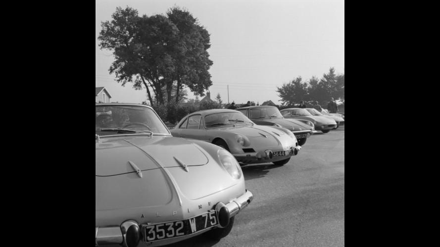 """Alpine A110, la """"berlinette bleue"""""""