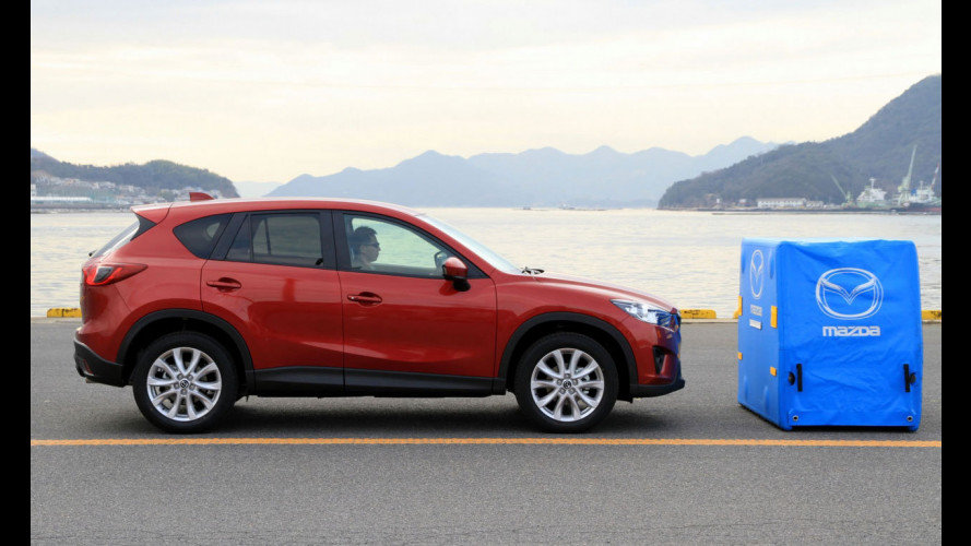 Mazda Smart City Brake Support