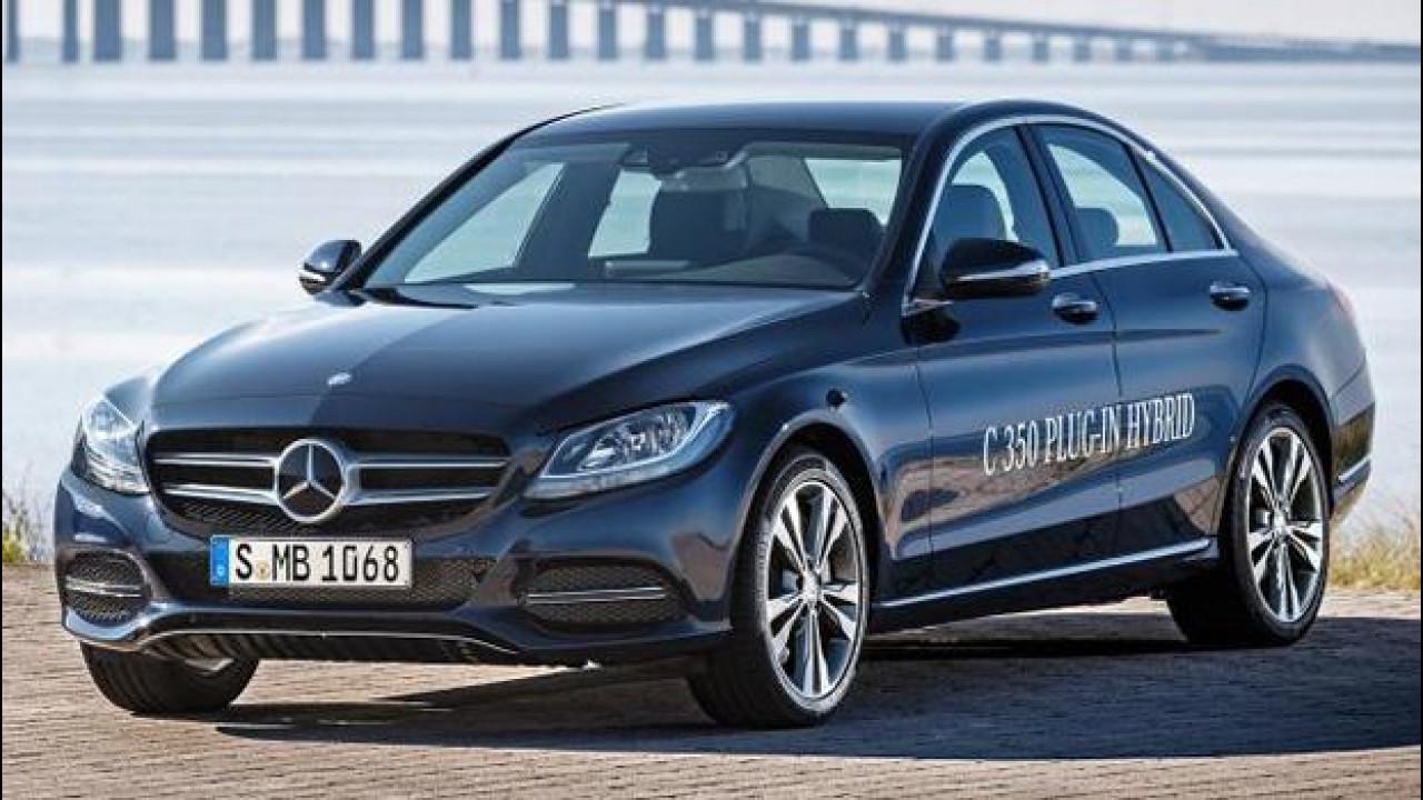 [Copertina] - Mercedes C350e, l'ibrida plug-in da 275 CV