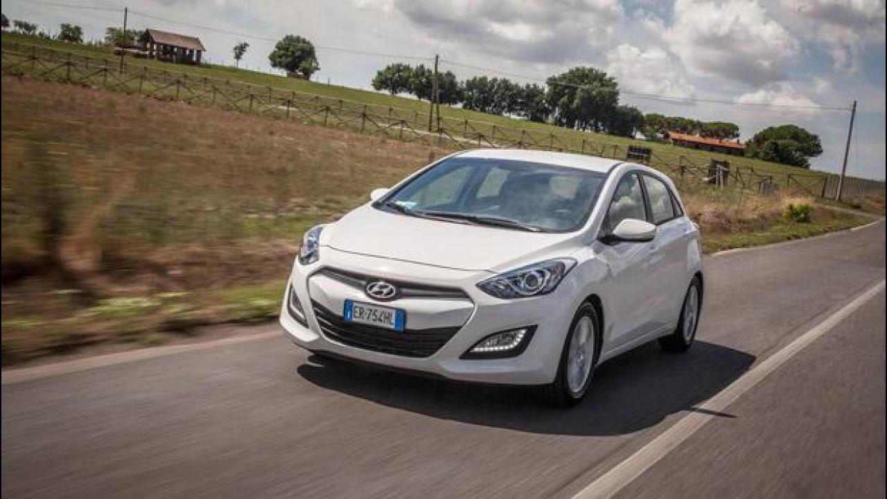 [Copertina] - Hyundai i30 1.4 Econext, prova su strada della coreana a GPL