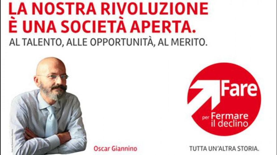 Elezioni 2013, cosa propone Oscar Giannino per noi automobilisti