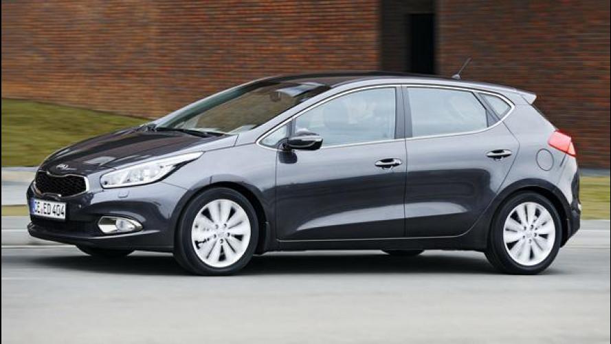 Nuova Kia cee'd: prezzi da 16.400 euro
