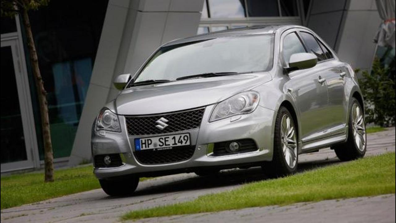 [Copertina] - Suzuki Kizashi: sino a fine giugno la GPL al prezzo del benzina
