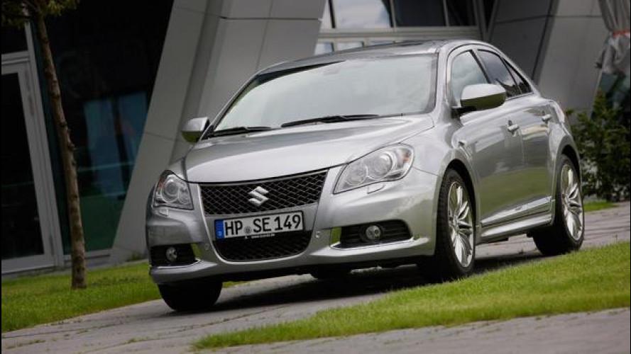 Suzuki Kizashi: sino a fine giugno la GPL al prezzo del benzina