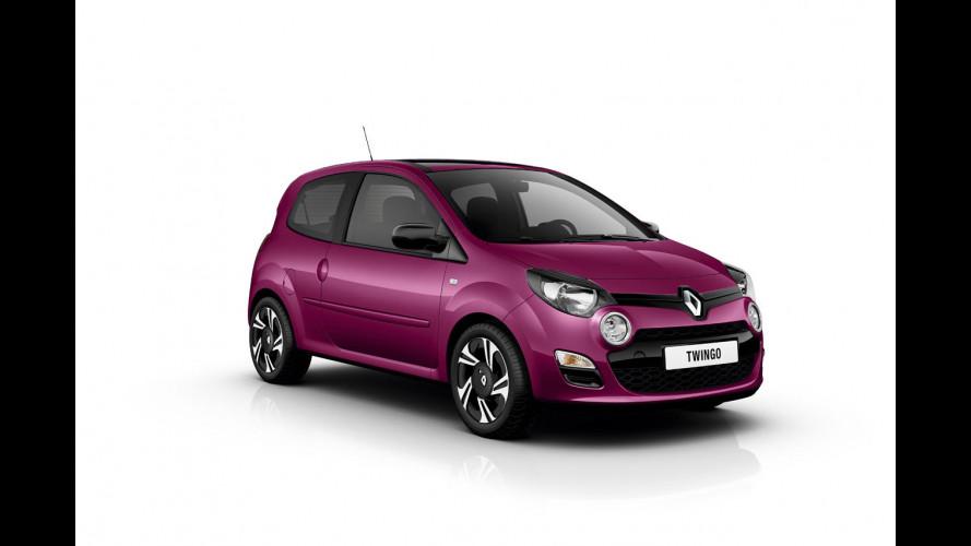 Renault Twingo restyling, la gamma italiana