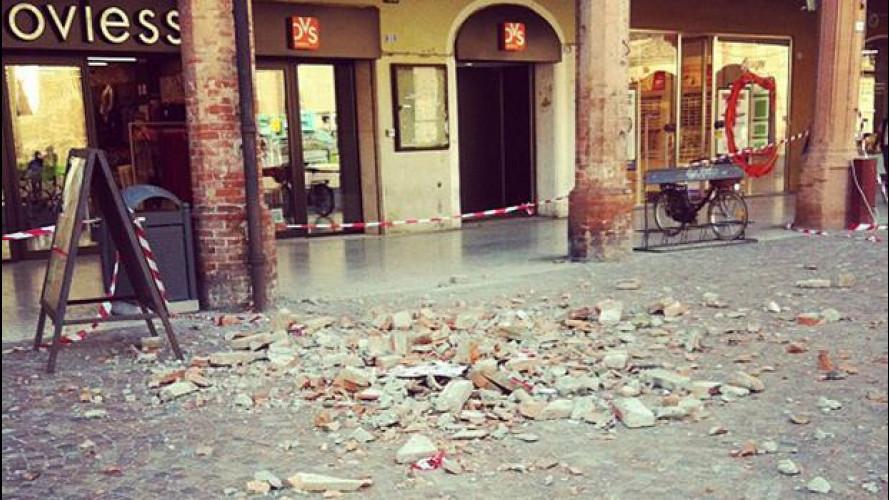"Terremoto in Emilia: la ""terra dei motori"" si ferma"