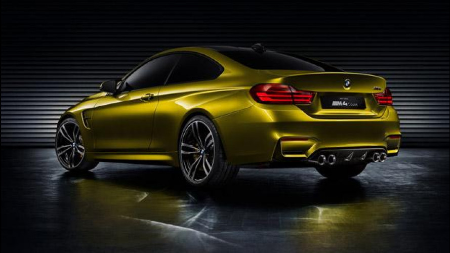BMW M4 Coupé Concept [VIDEO]