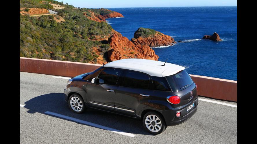 Fiat 500L Natural Power, l'auto a metano per la famiglia