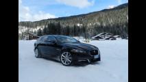 XF Sportbrake, la prima Jaguar per la settimana bianca