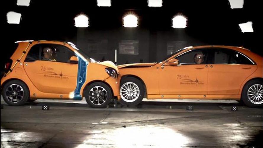 Nuova smart vs Mercedes Classe S