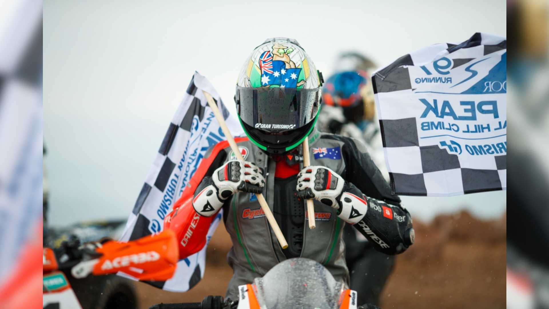 Amidst Tragedy, Aprilia Takes 2019 Pikes Peak Win