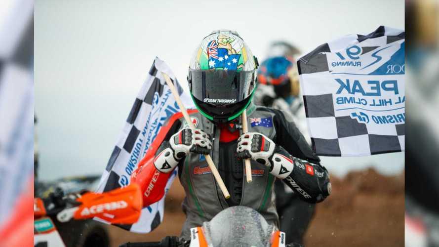 Amidst Tragedy, Aprilia Takes 2019 Pikes Peak Win