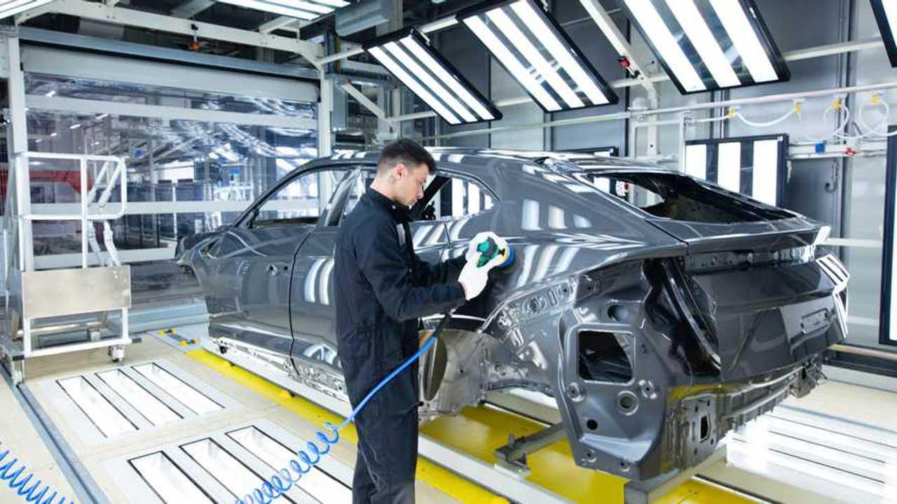 Lamborghini Urus, nuovo impianto di verniciatura a Sant'Agata Bolognese