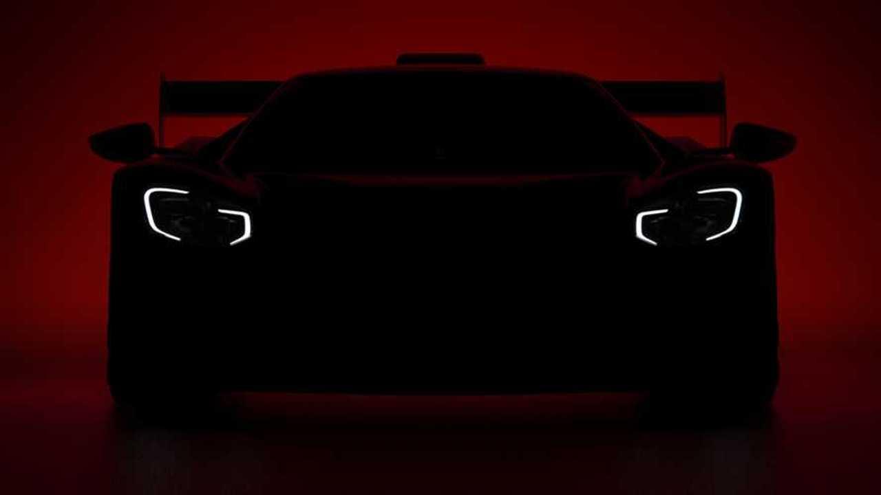 Ford GT race car teaser