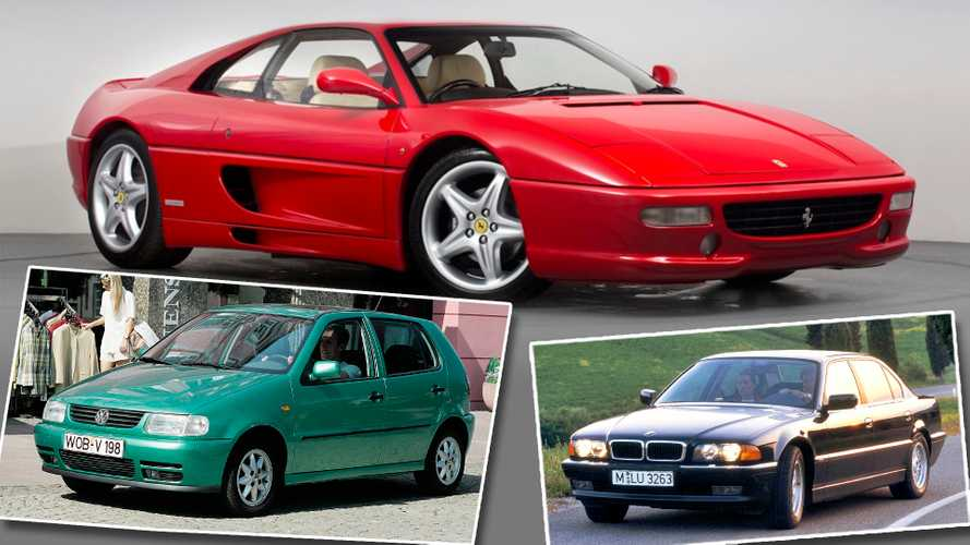 12 coches con 25 años de antigüedad