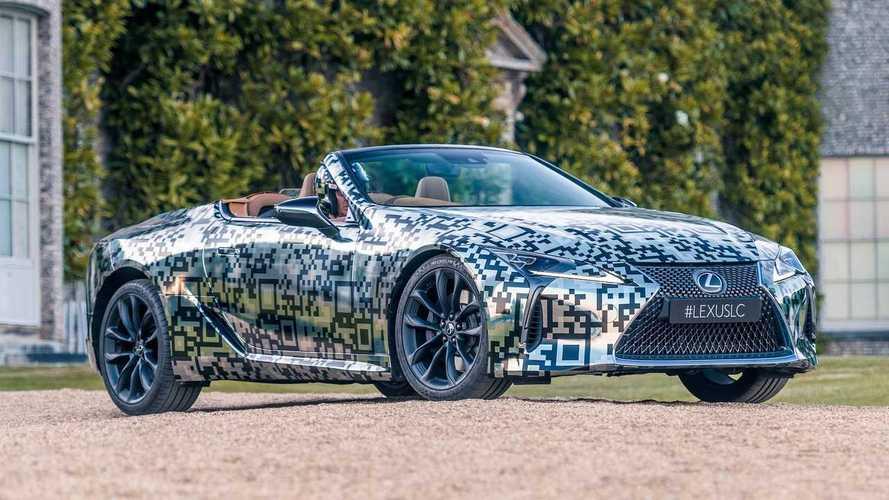 Lexus LC Cabriolet - Un prototype avant le modèle de série !