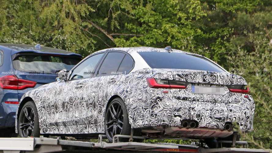Yeni BMW M3 tır üzerinde görüntülendi