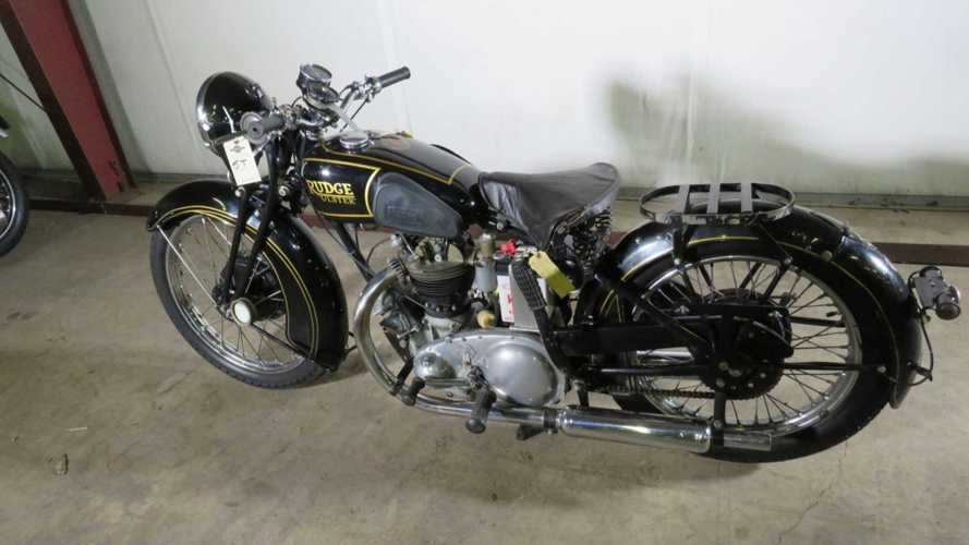 Incredible Barn-Find Euro Motorcycle Lot Goes To Auction