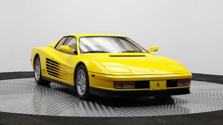 The Car That Defines The Decade Of Decadence Ferrari Testarossa